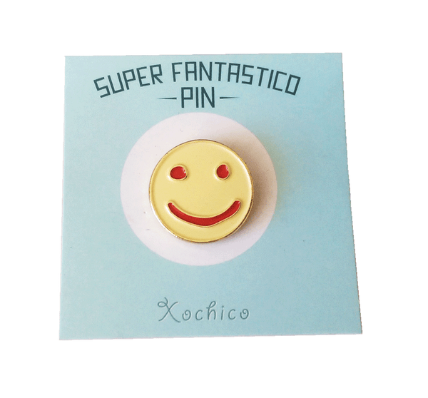 Smiley Cookie Enamel Pin