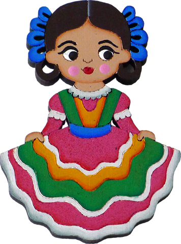 Tapatia Wooden Magnet