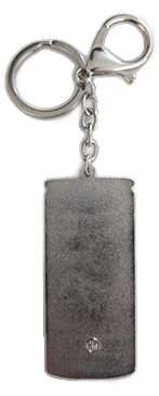 Botanica Key Chain, back.