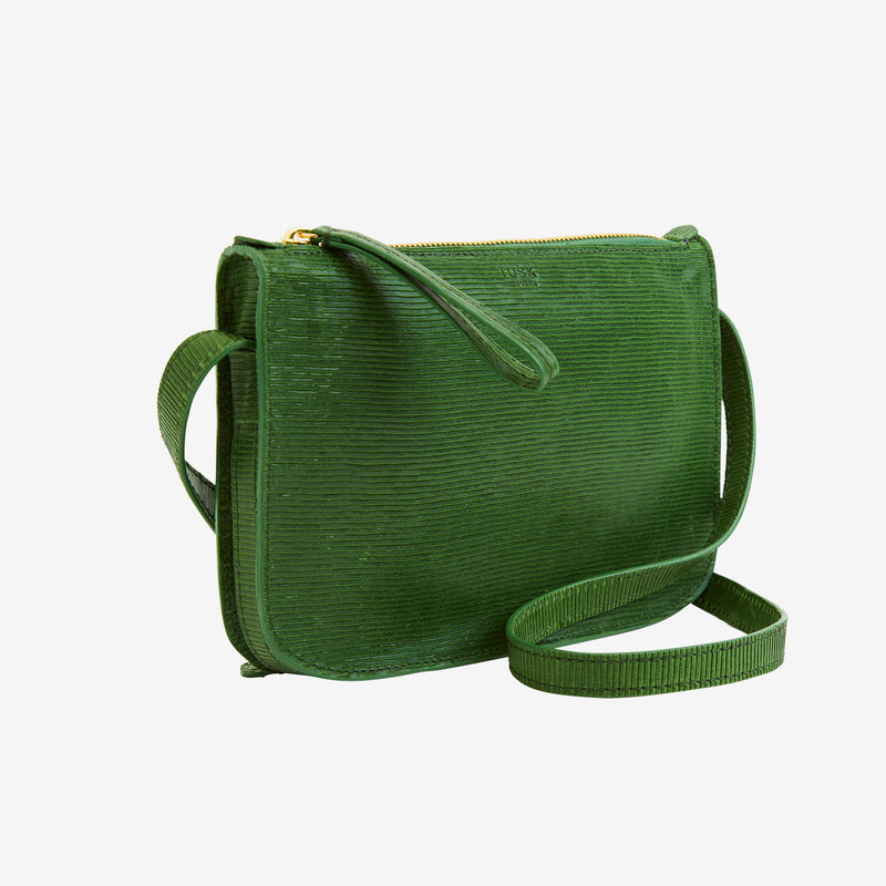 tusk-9902-womens-leather-small-cross-body-top-zip-bag-green-side