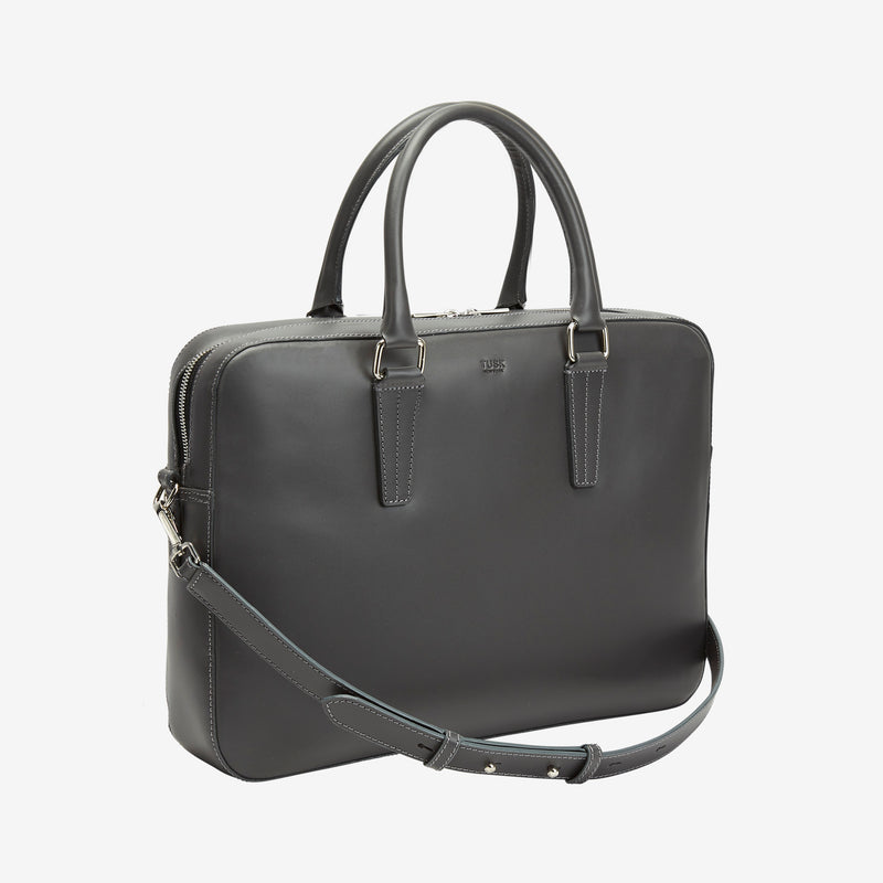 tusk-9906-mens-slim-leather-brief-case-charcoal-side-strap