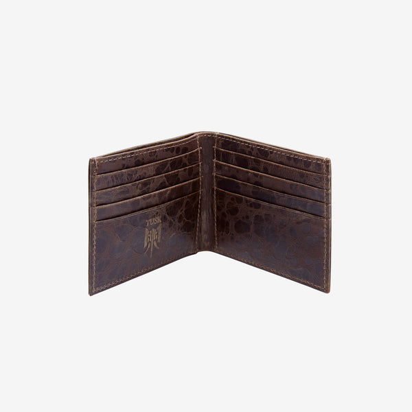 tusk-122-mens-leather-compact-billfold-wallet-chocolate-open