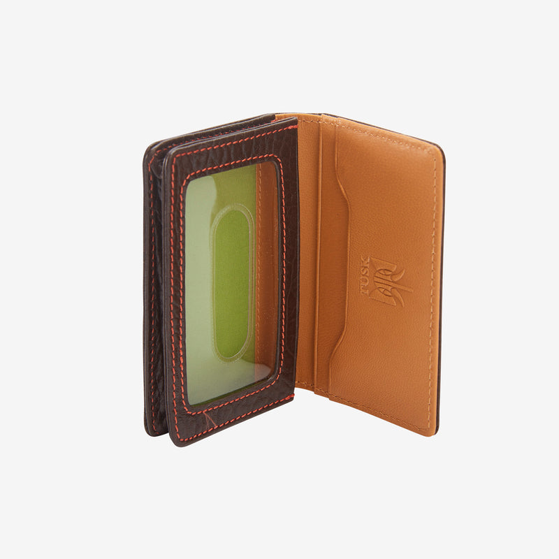 Amsterdam Men's Gusseted Business Card Case