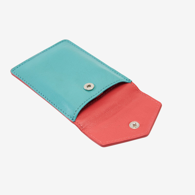 tusk-2002-siam-leather-mini-snap-card-case-french-blue-and-geranium-open
