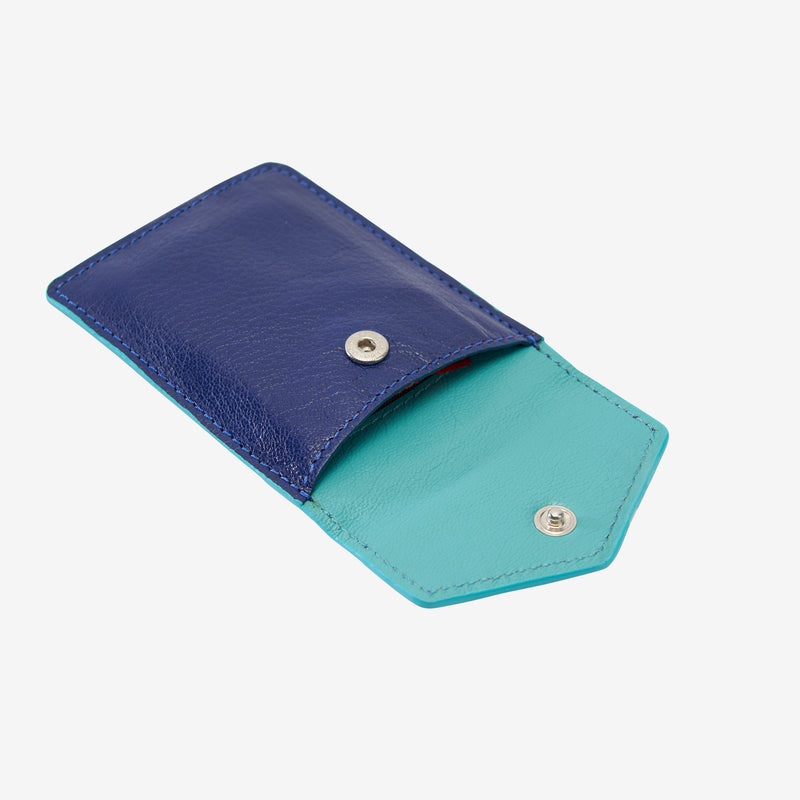 tusk-2002-siam-leather-mini-snap-card-case-indigo-and-french-blue-open