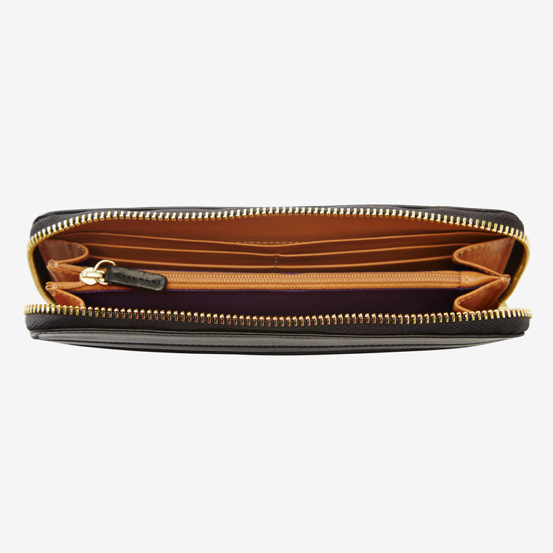 Donington Single Zip Wallet