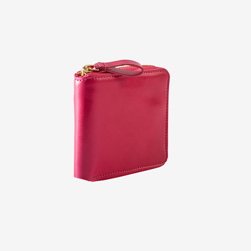 tusk-305-womens-leather-zip-aound-indexer-wallet-geranium-side