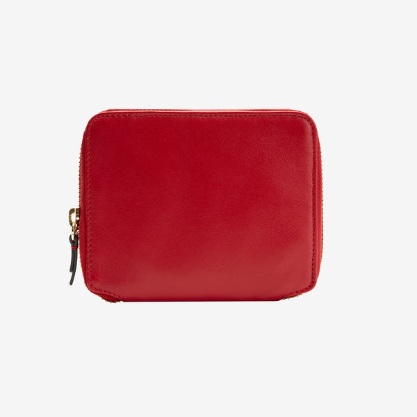 usk-305-womens-joy-leather-zip-around-indexer-wallet-red-front