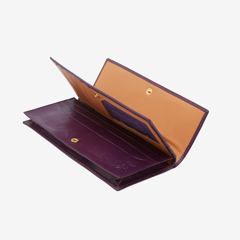 Kent Gusseted Clutch Wallet - Tusk