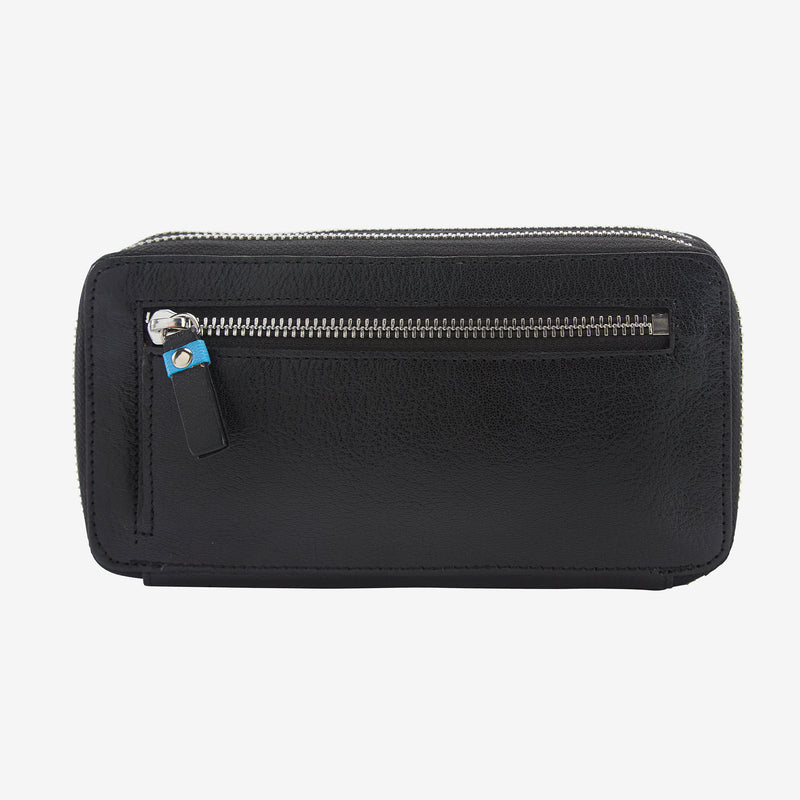 tusk-443-ur-double-zip-wallet-black-frenchblue-back