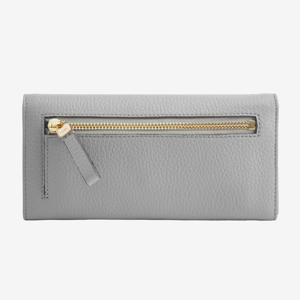 tusk-494-womens-ascot-pebblegrain-leather-accordion-wallet-smoke-back