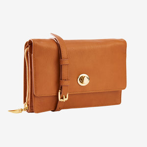Donington Napa Cross Body Bag - Tusk