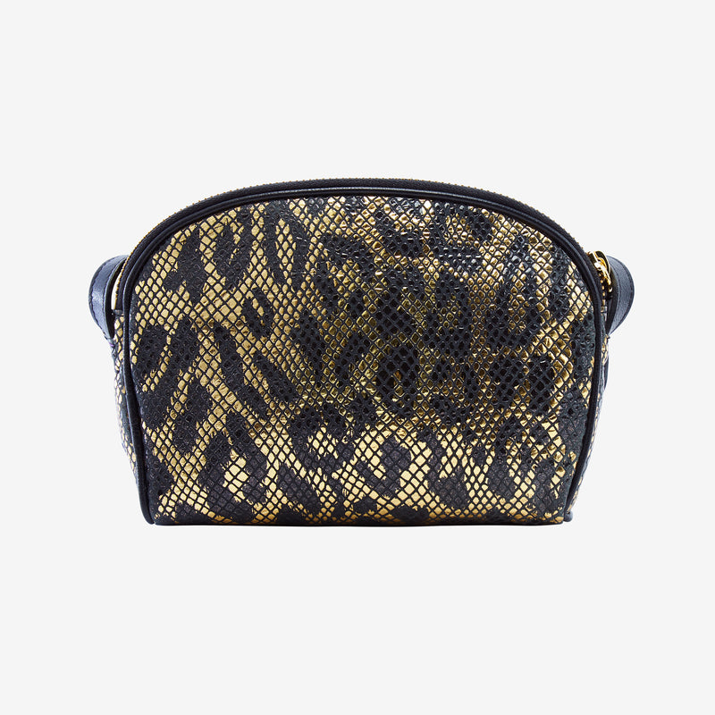 tusk-573-womens-snake-print-leather-clam-shell-cross-body-shoulder-bag-black-and-gold-back