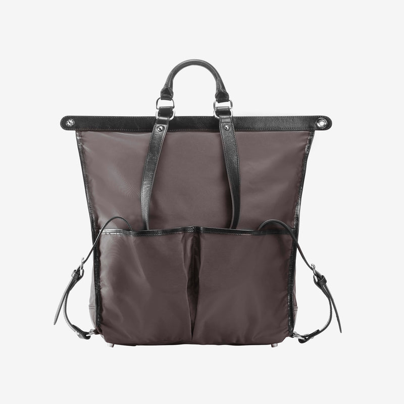 Gotham Gloss Large Backpack - Tusk