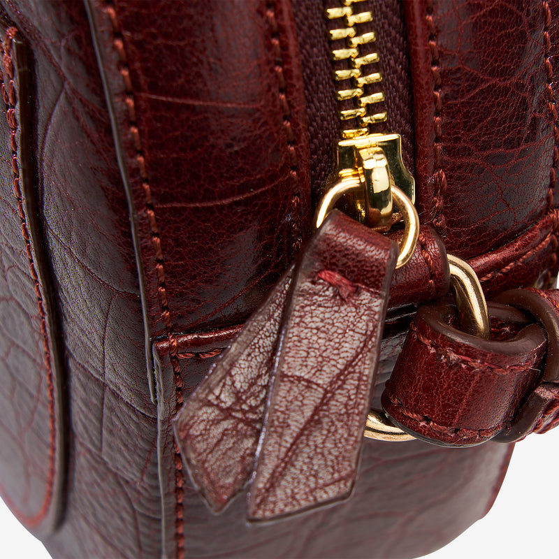 tusk-9900-round-eather-croco-print-cross-body-bag-oxblood-detail
