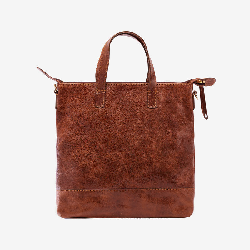 tusk-9905-lorna medium-leather-tote-camel-back