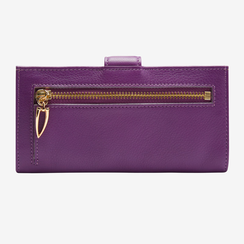 tusk-womens-donington-455-slim-leather-clutch-wallet-purple-back