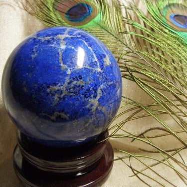 Lapis Lazuli Carved Sphere