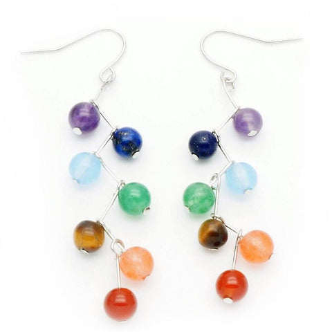 7 Chakra Earrings