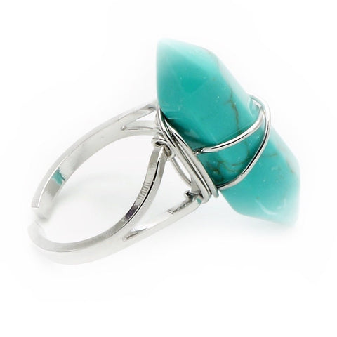 Turquoise Point Ring