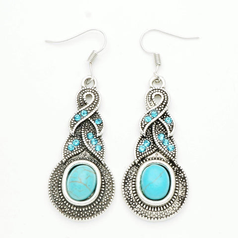 Turquoise Waterdrop Earrings
