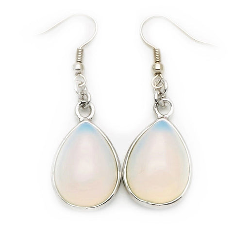 Opalite Teardrop Earrings