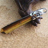Tiger Eye Point Pendant
