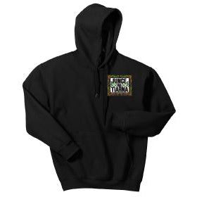 Akron HS Softball Gildan® - Heavy Blend™ Hooded Sweatshirt - Blue Bison Sports
