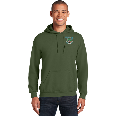 West Falls Conservation Society Gildan® - Heavy Blend™ Hooded Sweatshirt - Blue Bison Sports