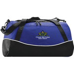 CNC TRI-COLOR SPORT BAG - Blue Bison Sports