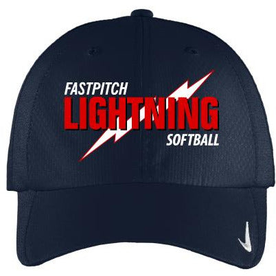 Lightning Softball Ladies Nike Sphere Dry Cap - Blue Bison Sports