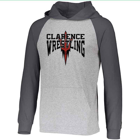 Clarence HS Wrestling Essential Thin Hoodie