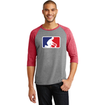 Clarence Middle Engineering Anvil® Tri-Blend 3/4-Sleeve Raglan Tee