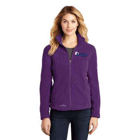 Northeastern Appraisal Assoc. Eddie Bauer® - Ladies Full-Zip Fleece Jacket