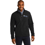 Northeastern Appraisal Associates Eddie Bauer® Shaded Crosshatch Soft Shell Jacket - Blue Bison Sports