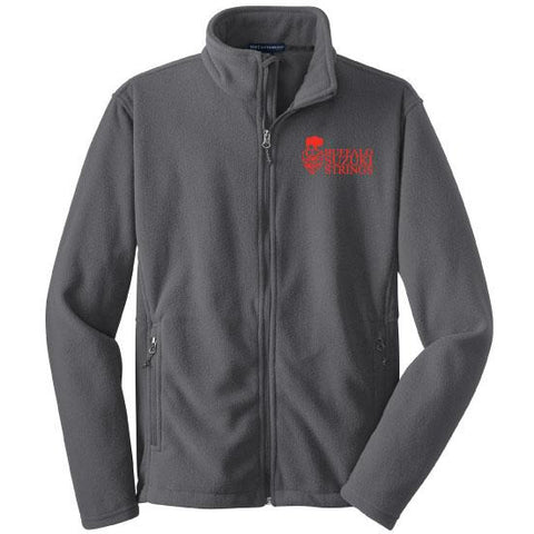 Buffalo Suzuki Strings Port Authority Youth Value Fleece Jacket - Blue Bison Sports
