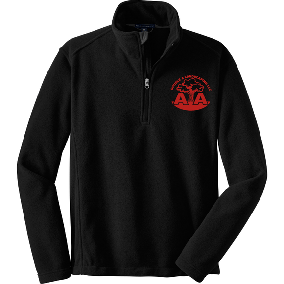 Double A Landscaping Port Authority® Value Fleece 1/4-Zip Pullover - Blue Bison Sports