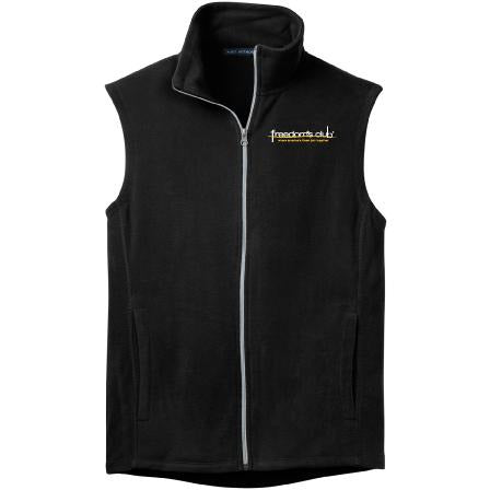 HCS Port Authority Mens Microfleece Vest - Blue Bison Sports