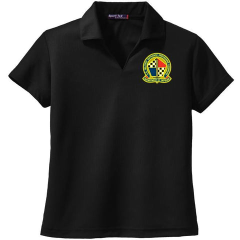 MEPS Sport-Tek Ladies Dri-Mesh V-Neck Polo