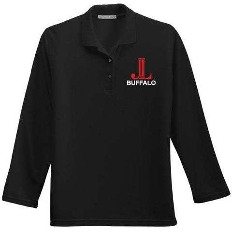 Junior League of Buffalo Port Authority Ladies Long Sleeve Silk Touch Polo
