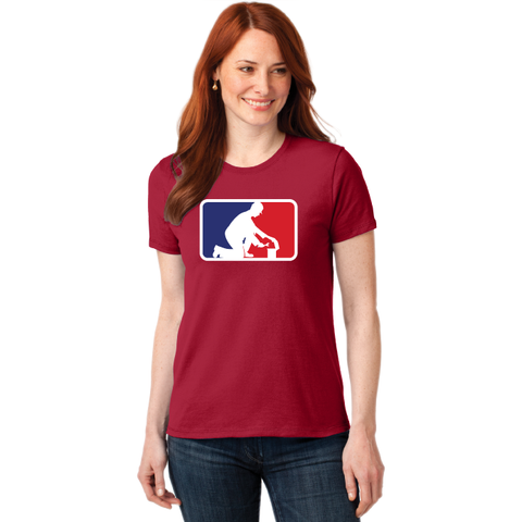 Clarence Middle Engineering Port & Company® Ladies Core Blend Tee