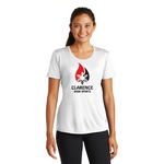 Clarence Ski Club Sport-Tek® Ladies PosiCharge® Competitor™ Tee - Blue Bison Sports