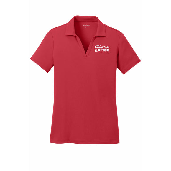 Amherst Youth and Recreation Sport-Tek® Ladies PosiCharge® RacerMesh™ Polo - Blue Bison Sports
