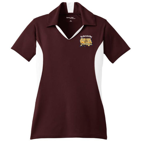 HQ Western Sector MEPCOM Sport-Tek Ladies Side Blocked Micropique Sport-Wick Polo