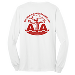Double A Landscaping Port & Company® Long Sleeve Core Blend Tee - Blue Bison Sports