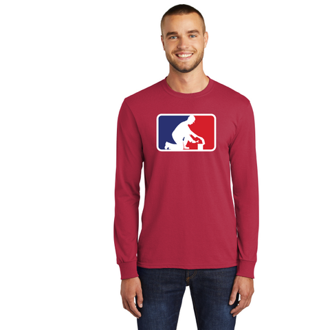Clarence Middle Engineering Port & Company® Long Sleeve Core Blend Tee