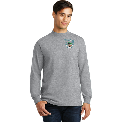 West Falls Conservation Society Port & Company® Essential Mock Turtleneck