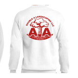 Double A Landscaping Port & Company® Essential Fleece Crewneck Sweatshirt - Blue Bison Sports