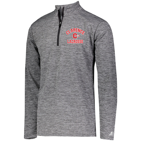 Clarence HS Boy's Lacrosse DRI-POWER LIGHTWEIGHT 1/4 ZIP PULLOVER