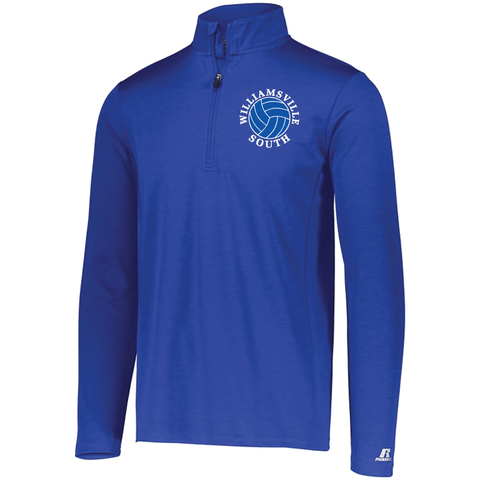Williamsville South HS Girl's Volleyball Russell Dri-Power Lightweight 1/4 Zip Pullover